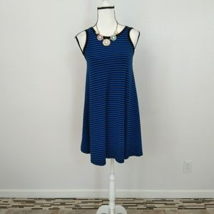Old Navy blue mini dress size xsmall